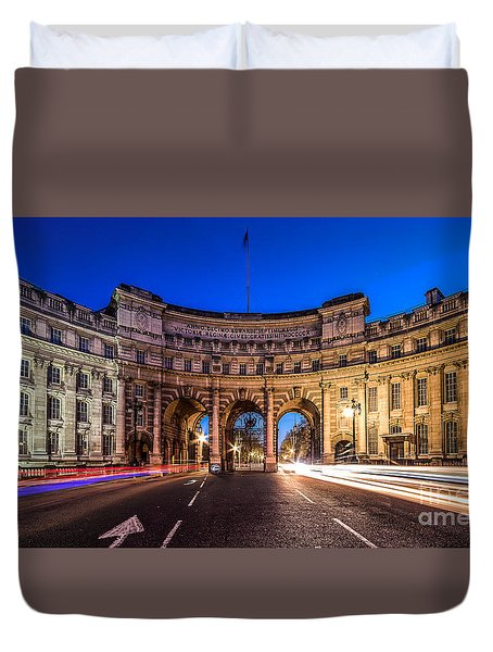 The Three Gates Duvet Cover by Giuseppe Torre