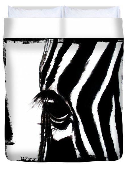 The Three Musketeers - Zebra Duvet Cover