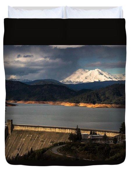 The Three Shasta's Duvet Cover
