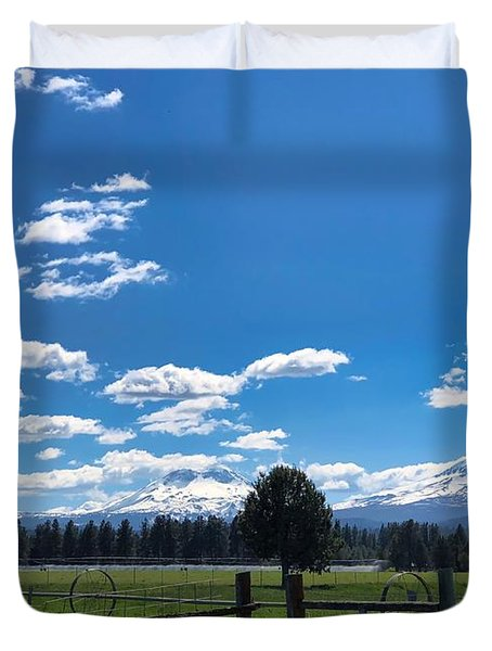 The Three Sisters Duvet Cover
