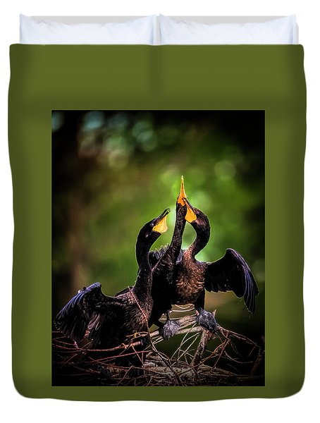 The Three Tenors Duvet Cover
