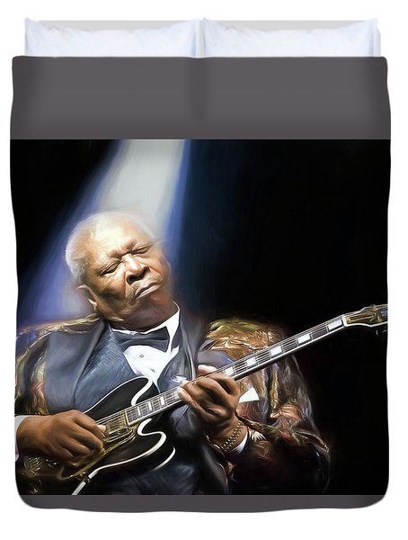 The Thrill Is Gone Duvet Cover