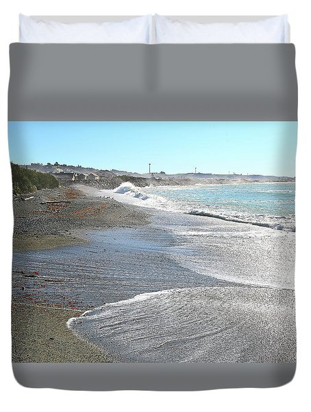 The Tide Comes In Duvet Cover