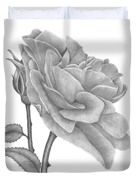 The Timeless Beauty Of Roses Duvet Cover by Patricia Hiltz