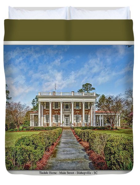 The Tisdale Manor Duvet Cover
