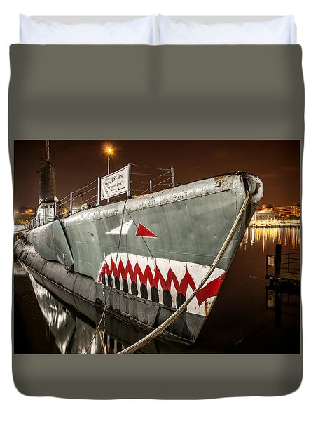 The Torsk Duvet Cover