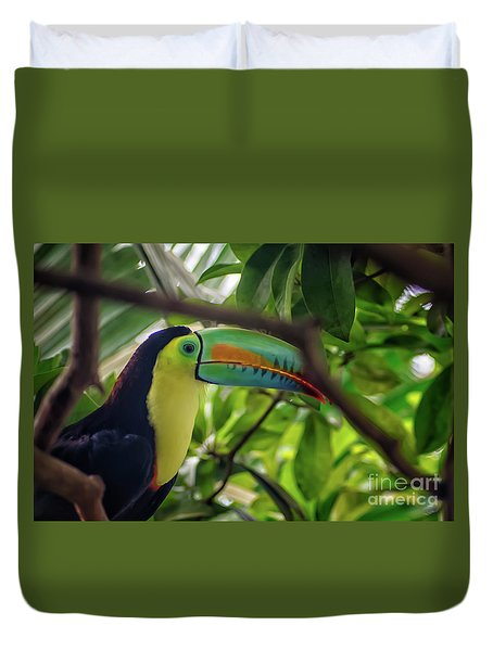 The Toucan Duvet Cover