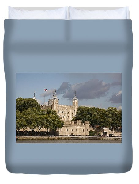 The Tower Of London. Duvet Cover