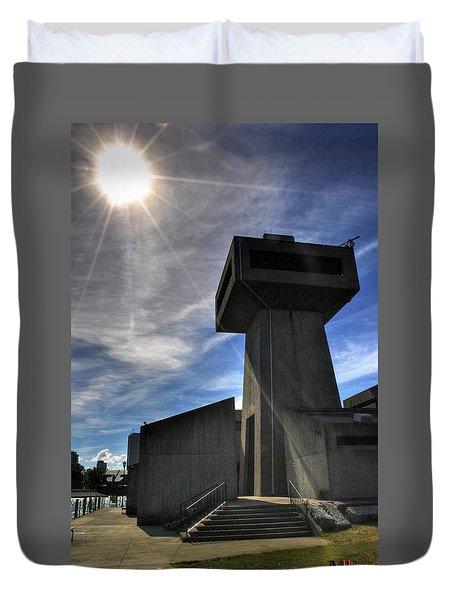 The Tower V2 Duvet Cover by Michael Frank Jr