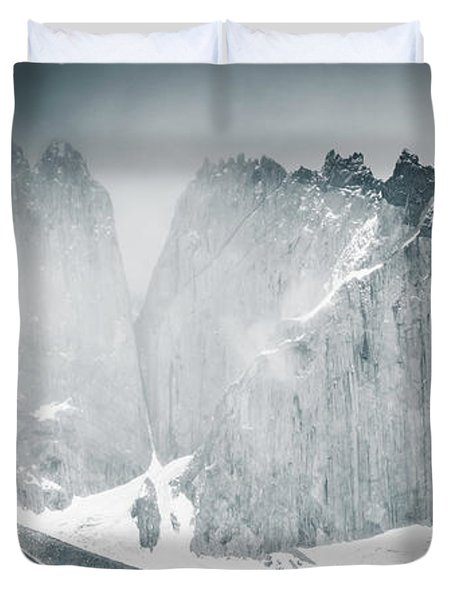 The Towers Duvet Cover by Andrew Matwijec