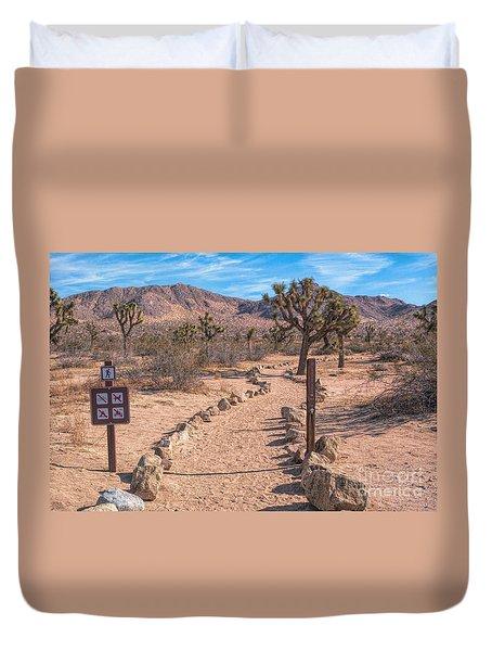 The Trailhead Duvet Cover