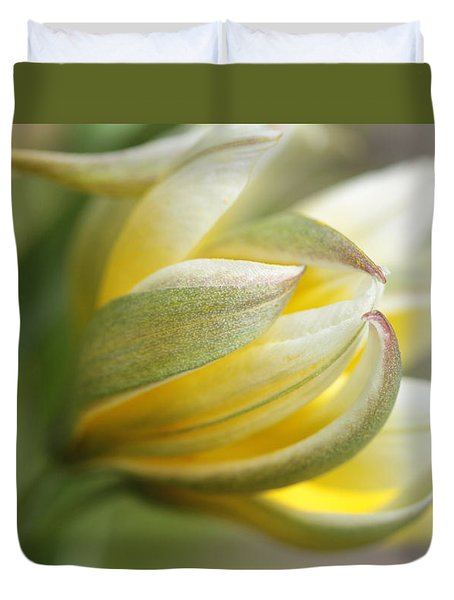 The Quiet One Duvet Cover by Connie Handscomb