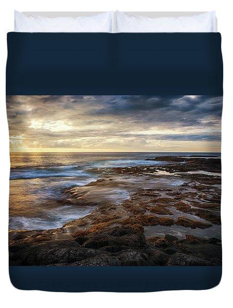 The Tranquil Seas Duvet Cover