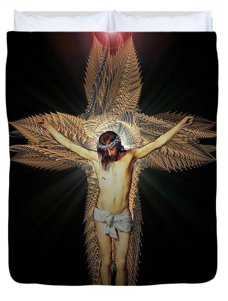 The Transformation Duvet Cover by Michael Durst