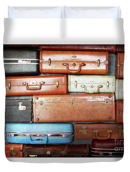 The Traveler Duvet Cover