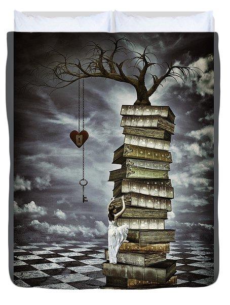 The Tree Of Love Duvet Cover