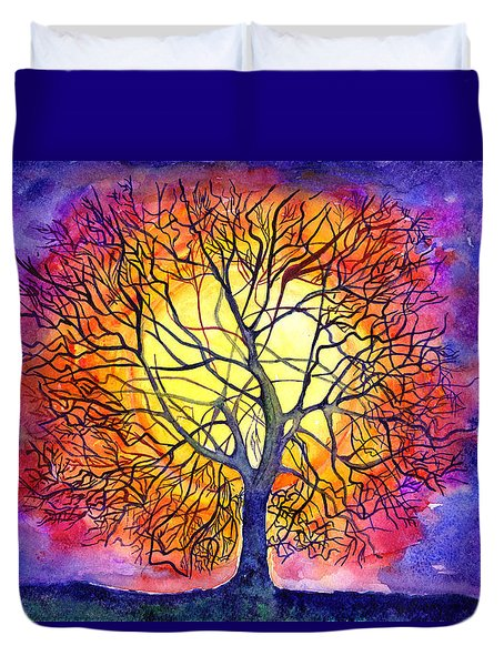 The Tree Of New Life Duvet Cover