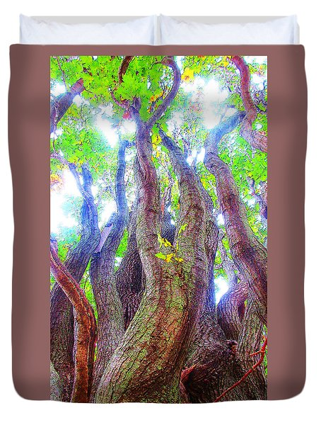 The Tree Of Salem Duvet Cover