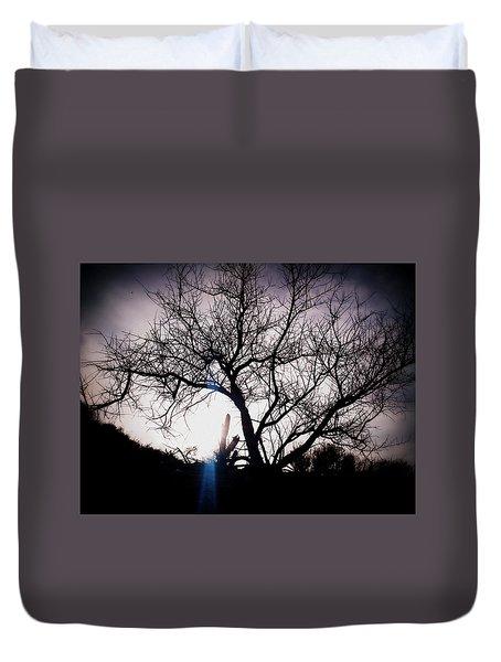 The Tree Of Wisdom Duvet Cover