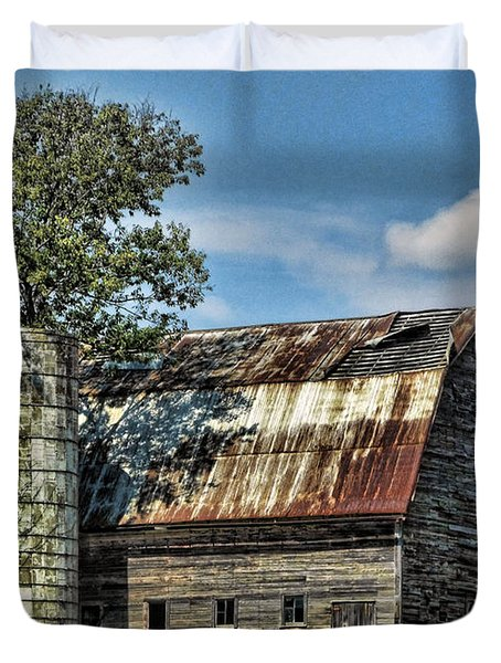 The Tree Silo Duvet Cover