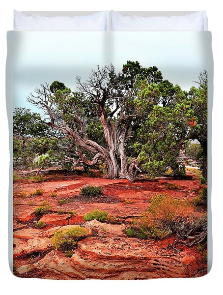 The Tree That Knows All Duvet Cover
