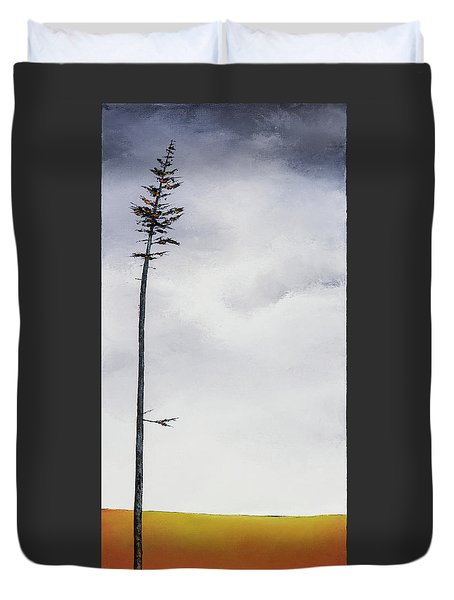 The Trees Are So Tall Here  II     Duvet Cover