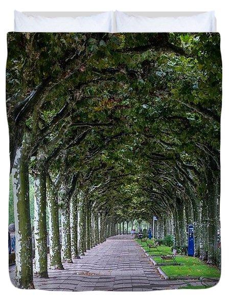 The Trees. Burgos, Spain.  #europe Duvet Cover
