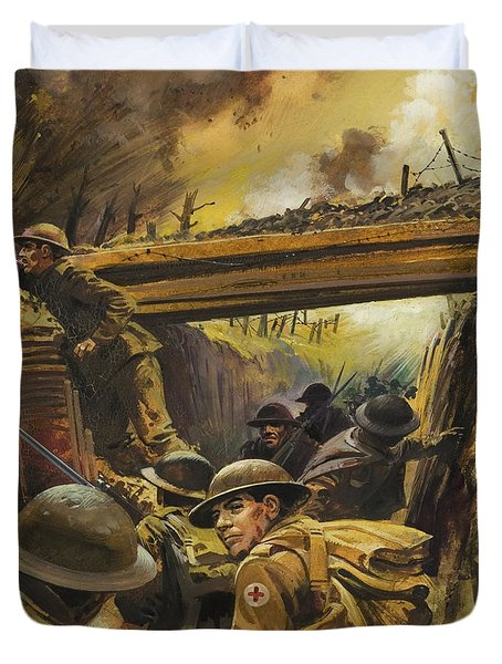 The Trenches Duvet Cover
