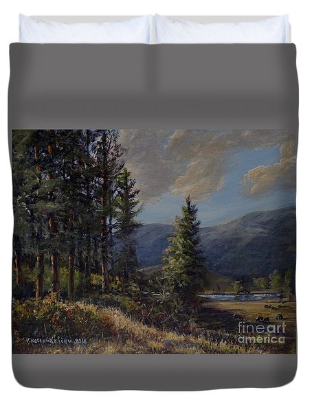 The Triangle C Duvet Cover