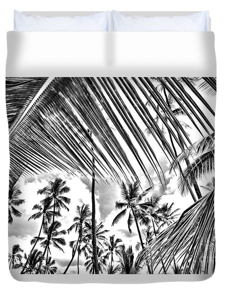 Duvet Cover featuring the photograph The Tropics by DJ Florek