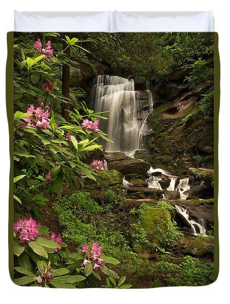 The Tropics Of North Carolina Duvet Cover