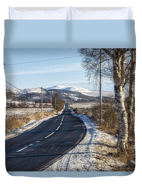 The Trossachs National Park In Scotland Duvet Cover