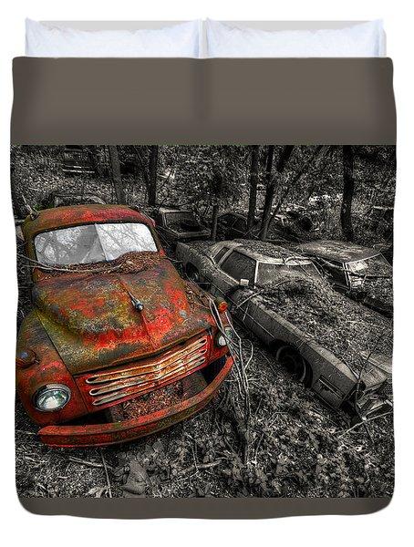 The Truck Duvet Cover