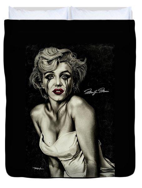 The True Marilyn Duvet Cover