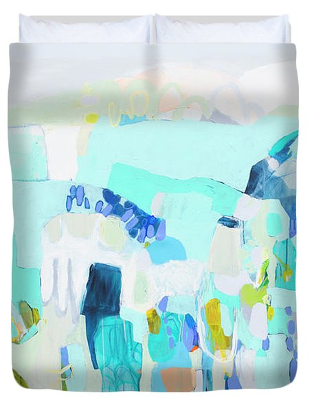 The Truth Of Ruth Duvet Cover