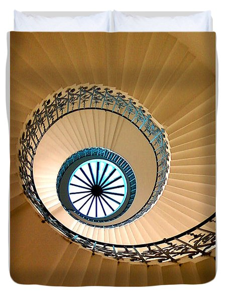 The Tulip Staircase Duvet Cover