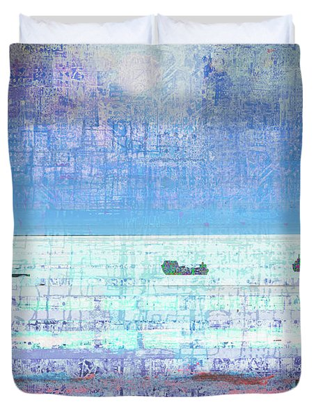 The Turn Of The Tide  Duvet Cover by Andy  Mercer