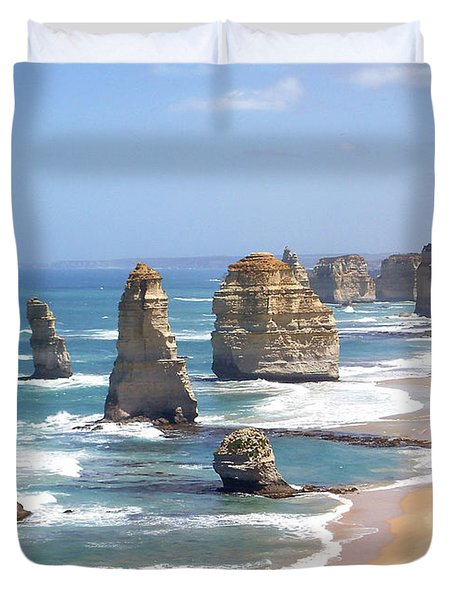 The Twelve Apostles Duvet Cover