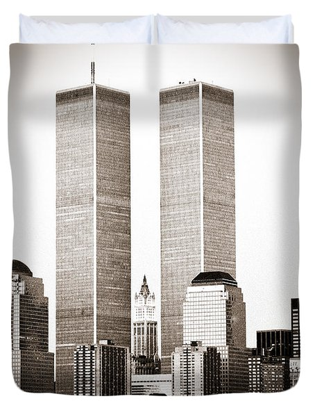 The Twin Towers Duvet Cover