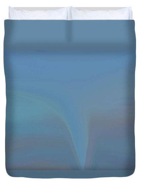 Duvet Cover featuring the painting The Twister by Dan Sproul