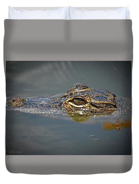 The Two Dragons Duvet Cover
