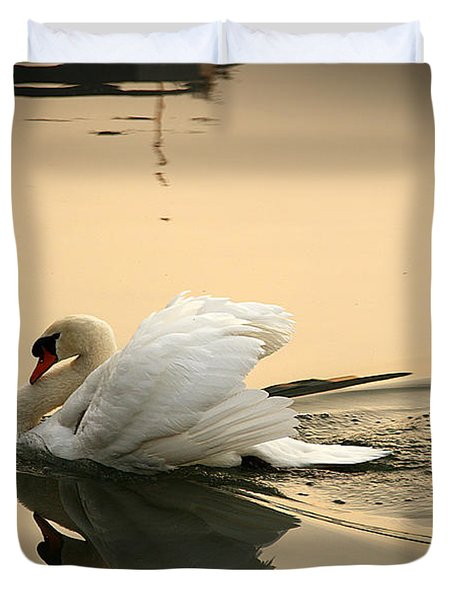 The Ugly Duckling Duvet Cover