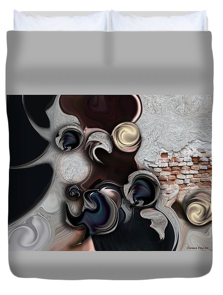 The Unconscious Reality Duvet Cover