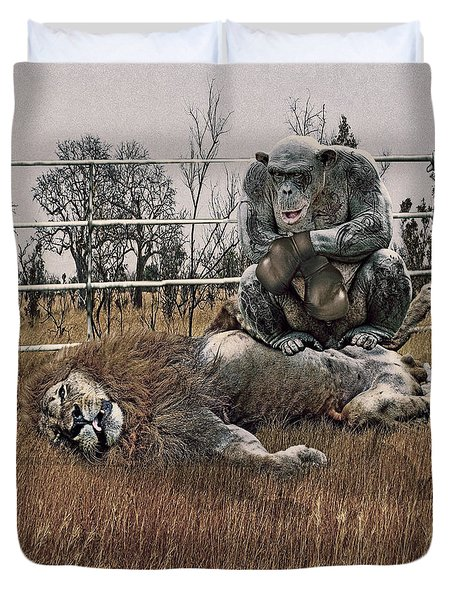 The Undefeated Chump Duvet Cover