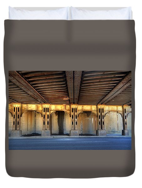 The Under Pass Duvet Cover