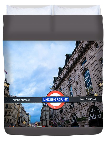 The Underground Duvet Cover by Patrick  Leeflang