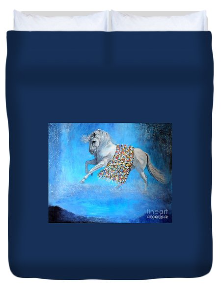 The Unicorn Duvet Cover