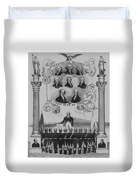 The Union Must Be Preserved Duvet Cover by War Is Hell Store