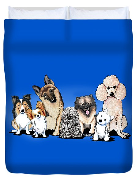 The Usual Suspects 3 Duvet Cover by Kim Niles