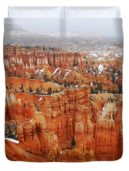 The Valley Of Hoodoos Duvet Cover by Scott Cameron